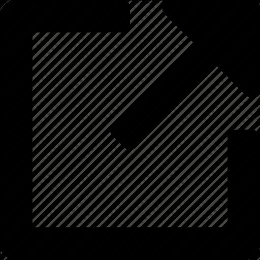 External, Link, Url Icon