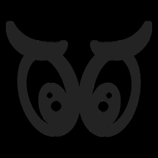 Emoticon Eyes Icon