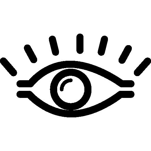 Human Opened Eye Icons Free Download