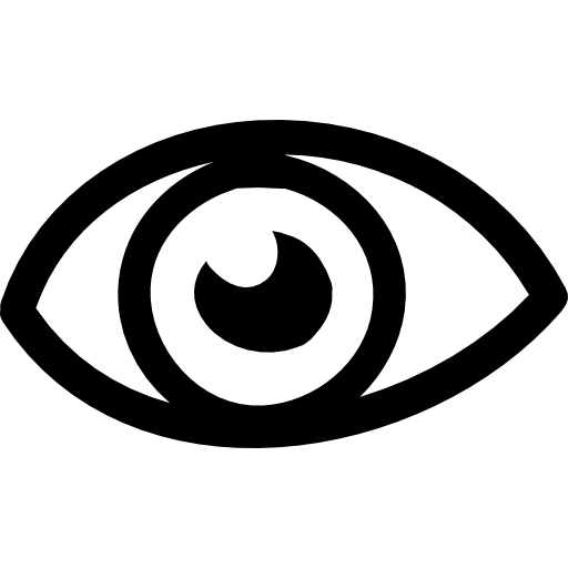 Eye Hand Drawn Variant Icons Free Download