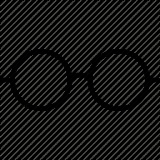 Eyeglasses Vector Round Huge Freebie! Download For Powerpoint