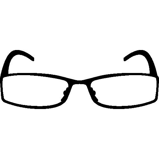 Rectangular Eyeglasses Icons Free Download