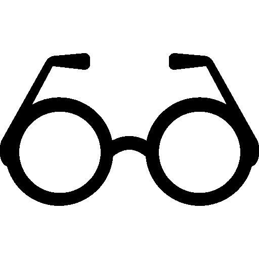 Round Eyeglasses Icons Free Download