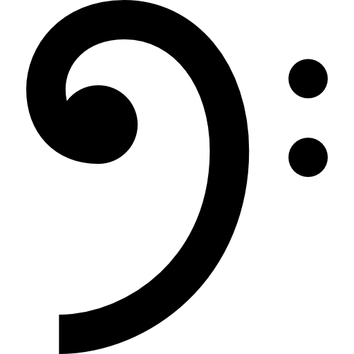 Bass Clef Icons Free Download