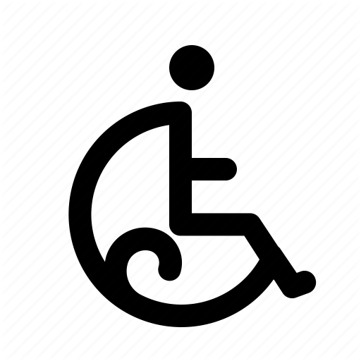 Chair, Difable, Disable, Medical, Wheel Icon