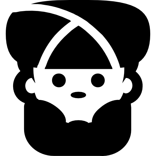 Man Face With Turban And Beard Icons Free Download