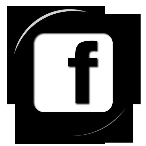 Free Glossy Black Button Icon Social Media Logos Facebook Logo