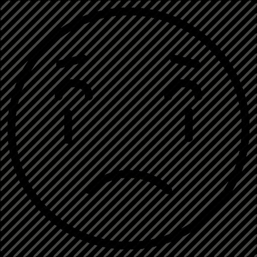 Crying, Emoji, Facebook, Sad, Tears Icon