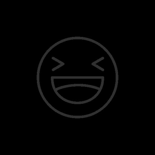 Laughing Emoji, Smiley, Facebook, Emoji Icon