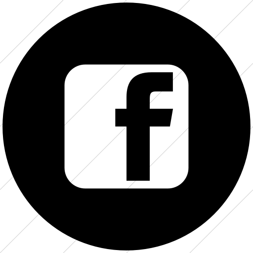 Black Facebook Icon Logo Png Images