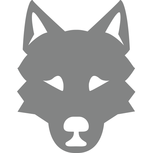 Wolf Face Emoji For Facebook, Email Sms Id