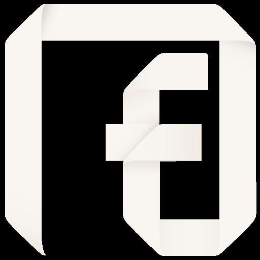 Social Media F Flat Icon