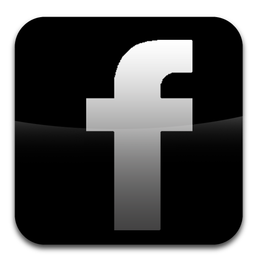 Black Facebook Icon Images Circle Logo Image