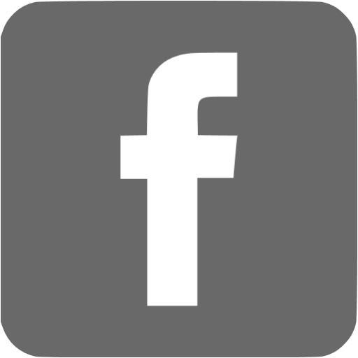 Facebook Grey Icon