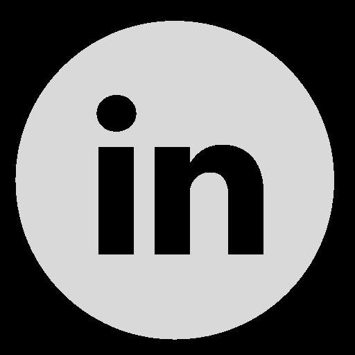 Circle, Gray, Linkedn