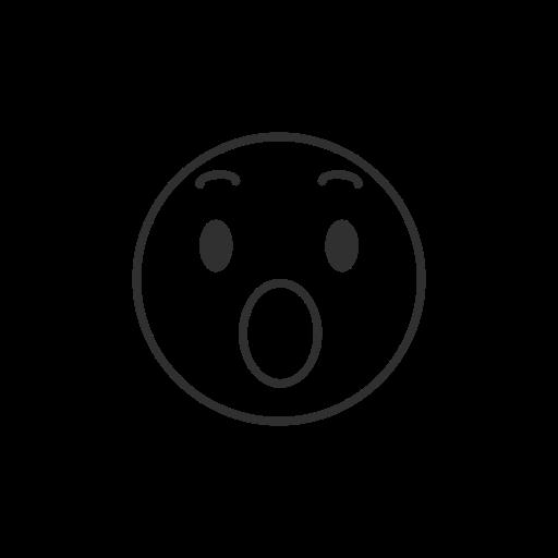 Facebook, Emoji, Amazed Emoji, Fb Reaction Icon