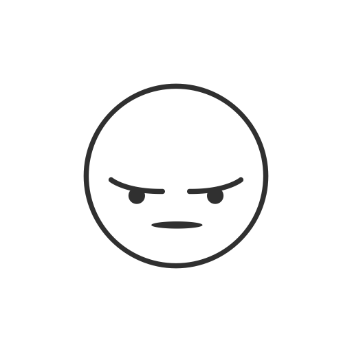 Angry Emoji, Facebook, Emoji, Fb Reaction Icon