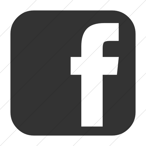 Simple Dark Gray Bootstrap Font Awesome Brands Facebook