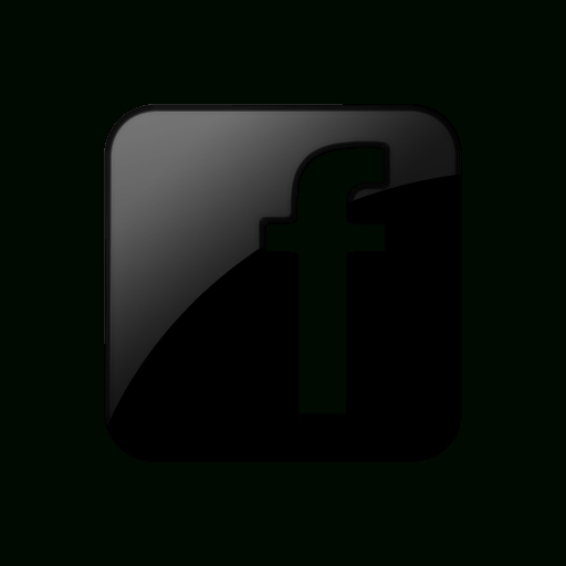 Facebook Icon Black And White Free Design Templates