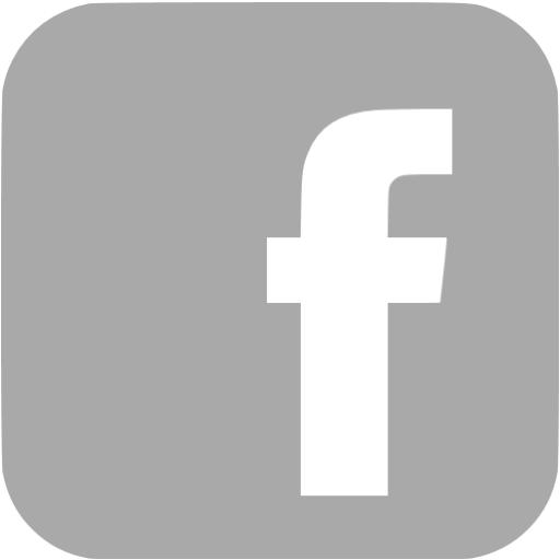 Dark Gray Facebook Icon