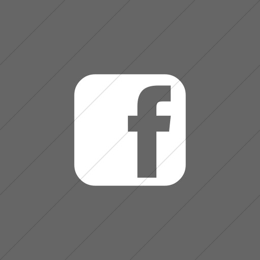 Flat Square White On Gray Bootstrap Font Awesome Brands