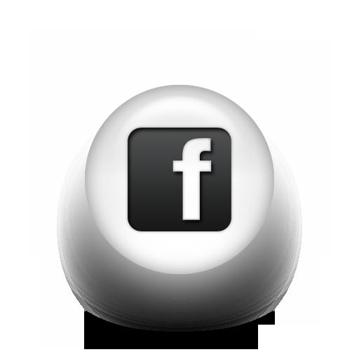 Metallic Like Us On Facebook Logo Png Images