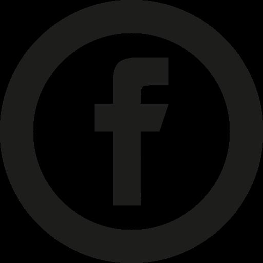 Facebook White Circle Logo Png Images