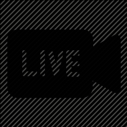 Camera, Live, Video Icon