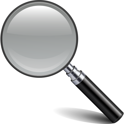 Facebook Magnifying Glass Icon