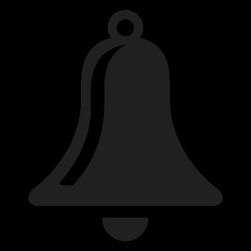 Bell, Mono Icon Free Of Snipicons Mono