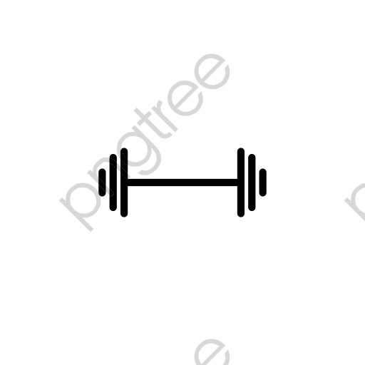 Transparent Dumbbell Icon Png Format Image With Size