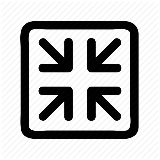Arrow, Direction, Page, Size, Smaller Icon
