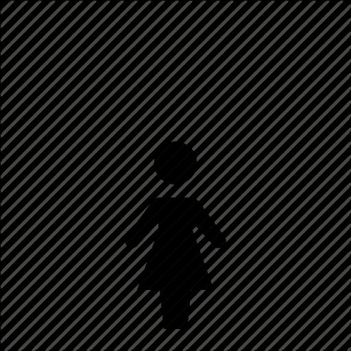 Child, Female, Girl, Kids, Little, Person Icon
