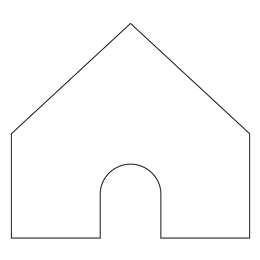 Instagram Home Line Icon