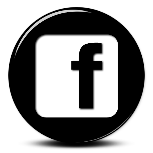 Small Facebook Black Logo Png Images