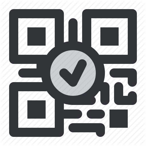 Code, Qr, Verified Icon
