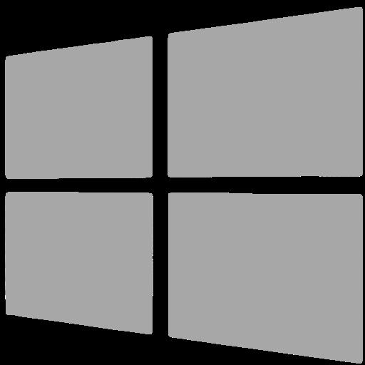 Windows, Social Network Icon Free Of Social Grey Icons