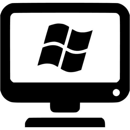 Black Windows Client Icon