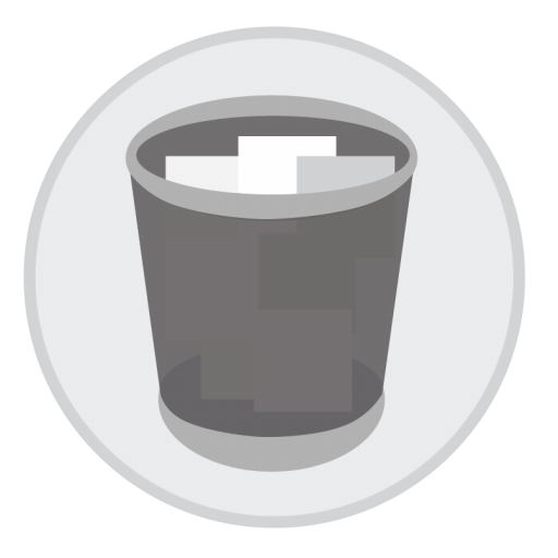 Trash Full Icon Mac Stock Apps Iconset Hamza Saleem