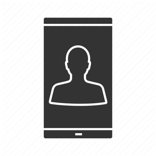 Call, Facetime, Mobile, Person, Phone, Smartphone, Video Call Icon