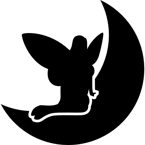 Fairy And Moon Icons Free Download