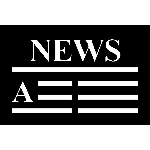 Newspaper Headline Icons Free Download