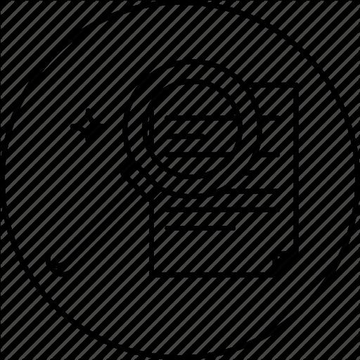 Document, File, Find, Paper, Search Icon