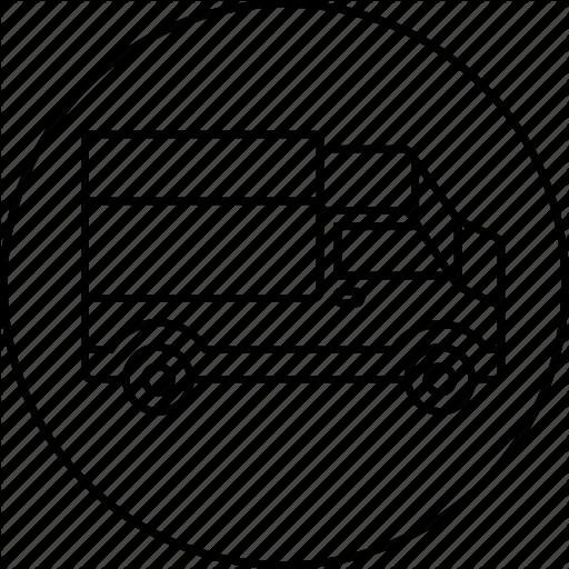 Ecommerce, Shipping, Transport, Transportation, Truck Icon