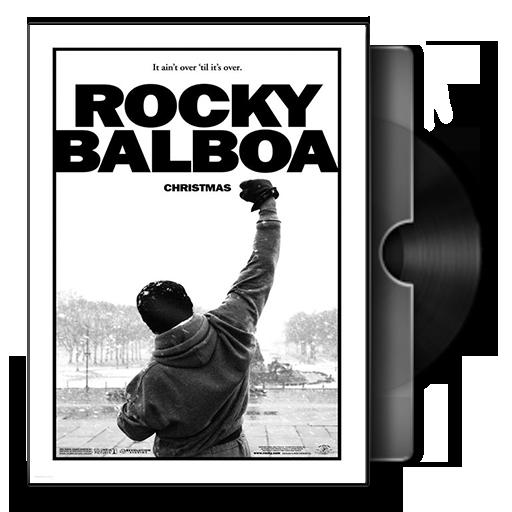 Rocky Balboa Folder Icon