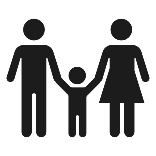 Family With Child Icon
