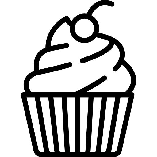 Cupcake Free Vector Icons Designed