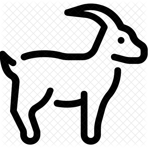 Goat Icon Transparent Png Clipart Free Download