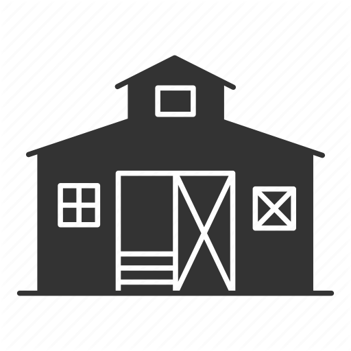 Agriculture, Barn, Farm, Farmhouse, House, Ranch, Shed Icon