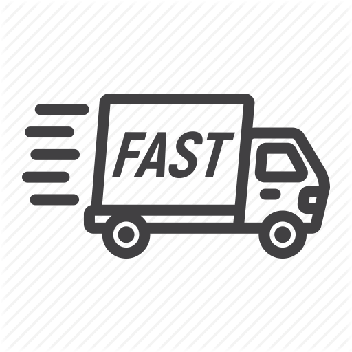 Delivery, Fast, Logistic, Service, Shipping, Transport, Truck Icon